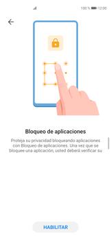 Cómo habilitar la función Bloqueo de aplicaciones - Huawei P40 - Passo 5
