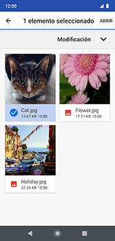 Envía fotos, videos y audio por mensaje de texto - Motorola Moto G7 Plus - Passo 17