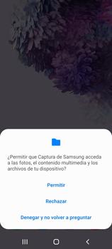 Tomar una captura de pantalla - Samsung Galaxy S20 - Passo 3