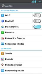 Desactiva tu conexión de datos - LG Optimus G Pro Lite - Passo 3
