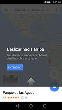 Uso de la navegación GPS - Huawei G8 Rio - Passo 10
