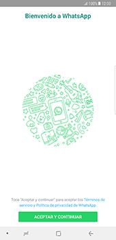 Configuración de Whatsapp - Samsung Galaxy Note 8 - Passo 4