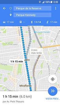 Uso de la navegación GPS - Samsung Galaxy J7 Prime - Passo 19