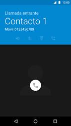 Contesta, rechaza o silencia una llamada - Motorola Moto G5 - Passo 3