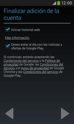 Crea una cuenta - Samsung Galaxy Trend Plus S7580 - Passo 18