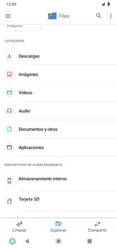 Transferir datos desde tu dispositivo a la tarjeta SD - Motorola Moto G8 Plus (Dual SIM) - Passo 3