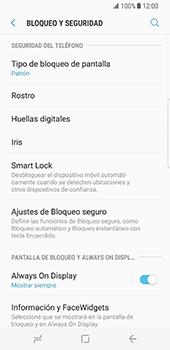 Desbloqueo del equipo por medio del patrón - Samsung Galaxy S8 - Passo 13
