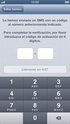 Configuración de Whatsapp - Apple iPhone 5 - Passo 7