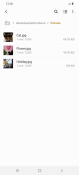 Transferir datos desde tu dispositivo a la tarjeta SD - Samsung Galaxy S20 - Passo 6