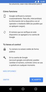 Crea una cuenta - Motorola Moto G6 Plus - Passo 12