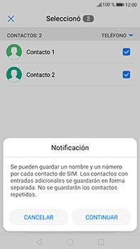 ¿Tu equipo puede copiar contactos a la SIM card? - Huawei P10 Plus - Passo 8