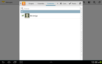 Envía fotos, videos y audio por mensaje de texto - Samsung Galaxy Note 10-1 - N8000 - Passo 6