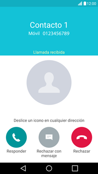 Contesta, rechaza o silencia una llamada - LG V10 - Passo 5
