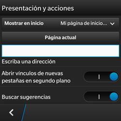Configura el Internet - BlackBerry Q5 - Passo 19