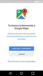 Uso de la navegación GPS - LG K10 - Passo 5