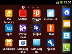 Configura el hotspot móvil - Samsung Galaxy Y Pro GT - B5510 - Passo 3