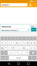 Envía fotos, videos y audio por mensaje de texto - LG K10 - Passo 12