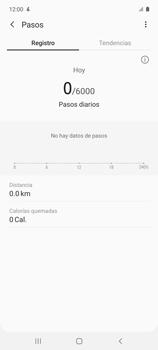 Cómo funciona el Samsung Health - Samsung Galaxy A51 - Passo 11
