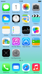 Configura el Internet - Apple iPhone 5c - Passo 1