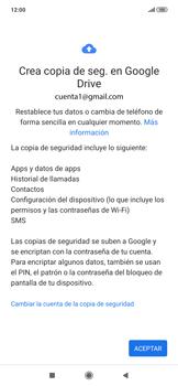 Realiza una copia de seguridad con tu cuenta - Xiaomi Redmi Note 7 - Passo 10