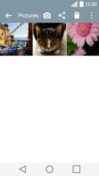 Transferir fotos vía Bluetooth - LG C50 - Passo 5