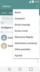 ¿Tu equipo puede copiar contactos a la SIM card? - LG C50 - Passo 5