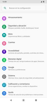 Realiza una copia de seguridad con tu cuenta - Motorola One Zoom - Passo 4
