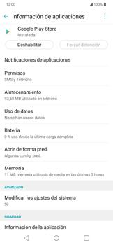 Limpieza de aplicación - LG K40S - Passo 6