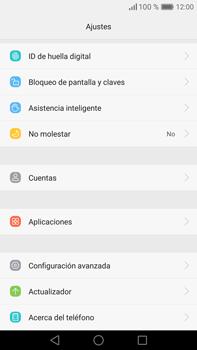 Restaura la configuración de fábrica - Huawei Mate 8 - Passo 3