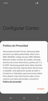 Configura tu correo electrónico - Samsung S10+ - Passo 11