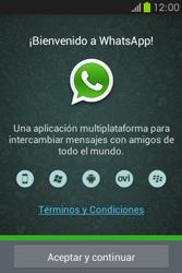 Configuración de Whatsapp - Samsung Galaxy Fame GT - S6810 - Passo 4