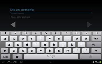 Crea una cuenta - Samsung Galaxy Note 10-1 - N8000 - Passo 11