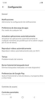Cambiar configuración de actualizaciones de aplicaciones - Samsung Galaxy A51 - Passo 8