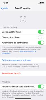 Cómo configurar el Face ID - Apple iPhone XS - Passo 13