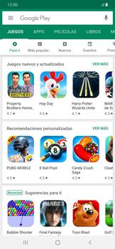 Instala las aplicaciones - Samsung Galaxy A50 - Passo 5