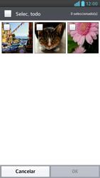 Envía fotos, videos y audio por mensaje de texto - LG Optimus G Pro Lite - Passo 16