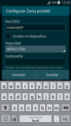 Configura el hotspot móvil - Samsung Galaxy Alpha - G850 - Passo 9