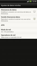 Configura el Internet - HTC ONE X  Endeavor - Passo 5