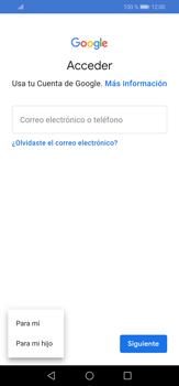 Crea una cuenta - Huawei P30 Lite - Passo 4