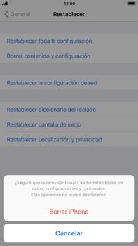 Restaura la configuración de fábrica - Apple iPhone 7 Plus - Passo 7
