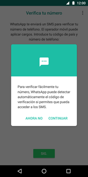 Configuración de Whatsapp - Motorola Moto G6 Plus - Passo 10