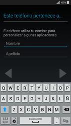 Activa el equipo - Samsung Galaxy A3 - A300M - Passo 12