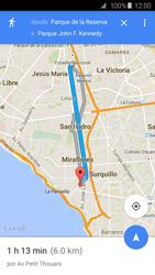 Uso de la navegación GPS - Samsung Galaxy S6 - G920 - Passo 16