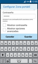 Configura el hotspot móvil - Samsung Galaxy Core Prime - G360 - Passo 9