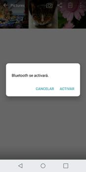 Transferir fotos vía Bluetooth - LG G6 - Passo 10
