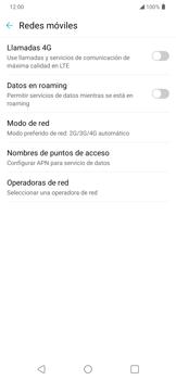Configura el Internet - LG K50s - Passo 8