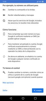 Crea una cuenta - LG G7 ThinQ - Passo 11