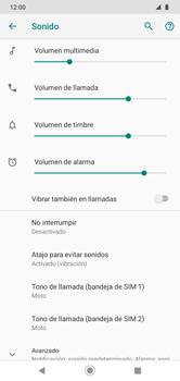 Configuración de tono de llamada - Motorola Moto G8 Play (Single SIM) - Passo 4