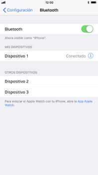 Conecta con otro dispositivo Bluetooth - Apple iPhone 8 Plus - Passo 6