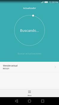 Actualiza el software del equipo - Huawei G8 Rio - Passo 6